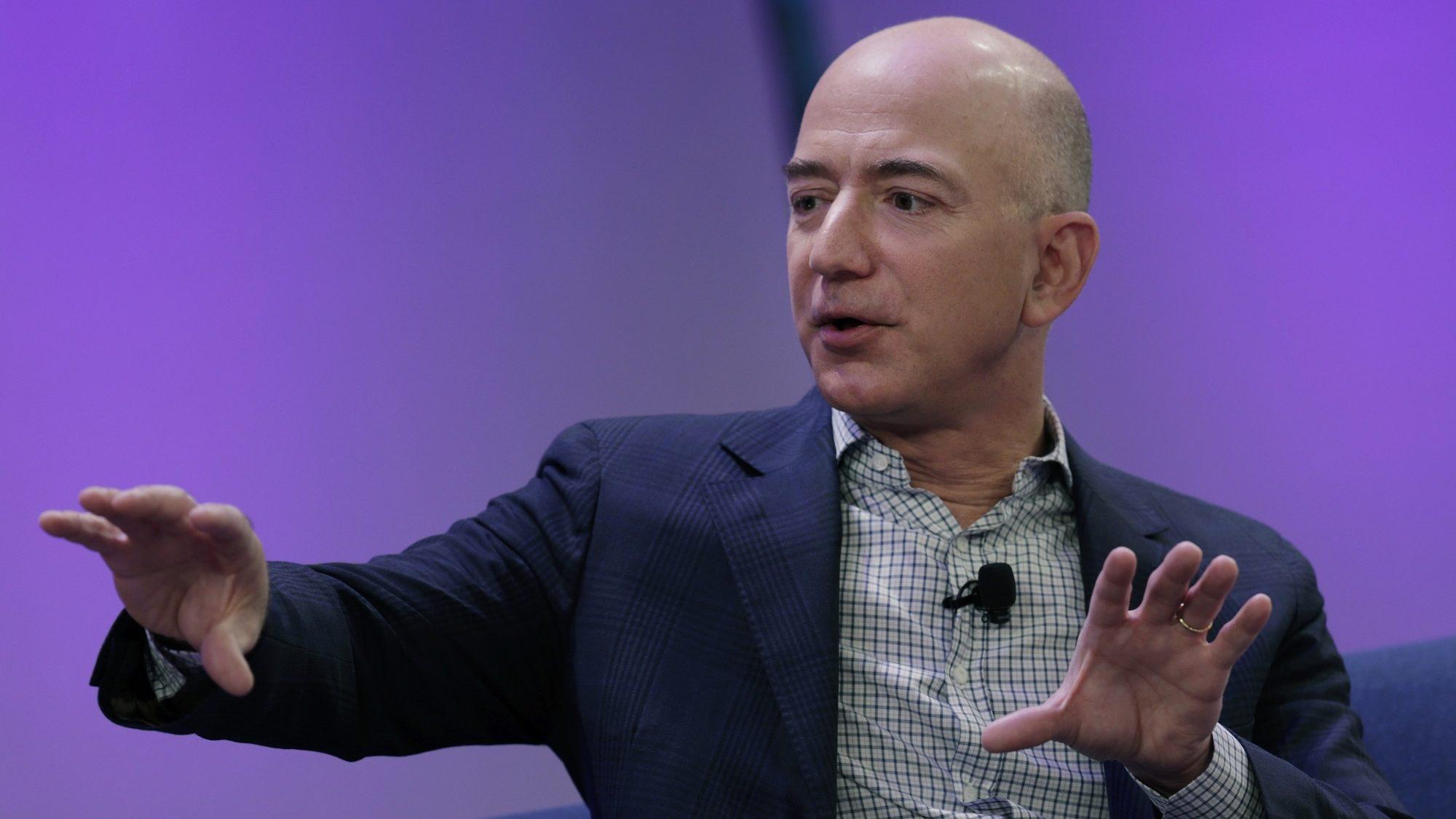 Líder da Amazon pode tornar-se a pessoa mais rica do mundo