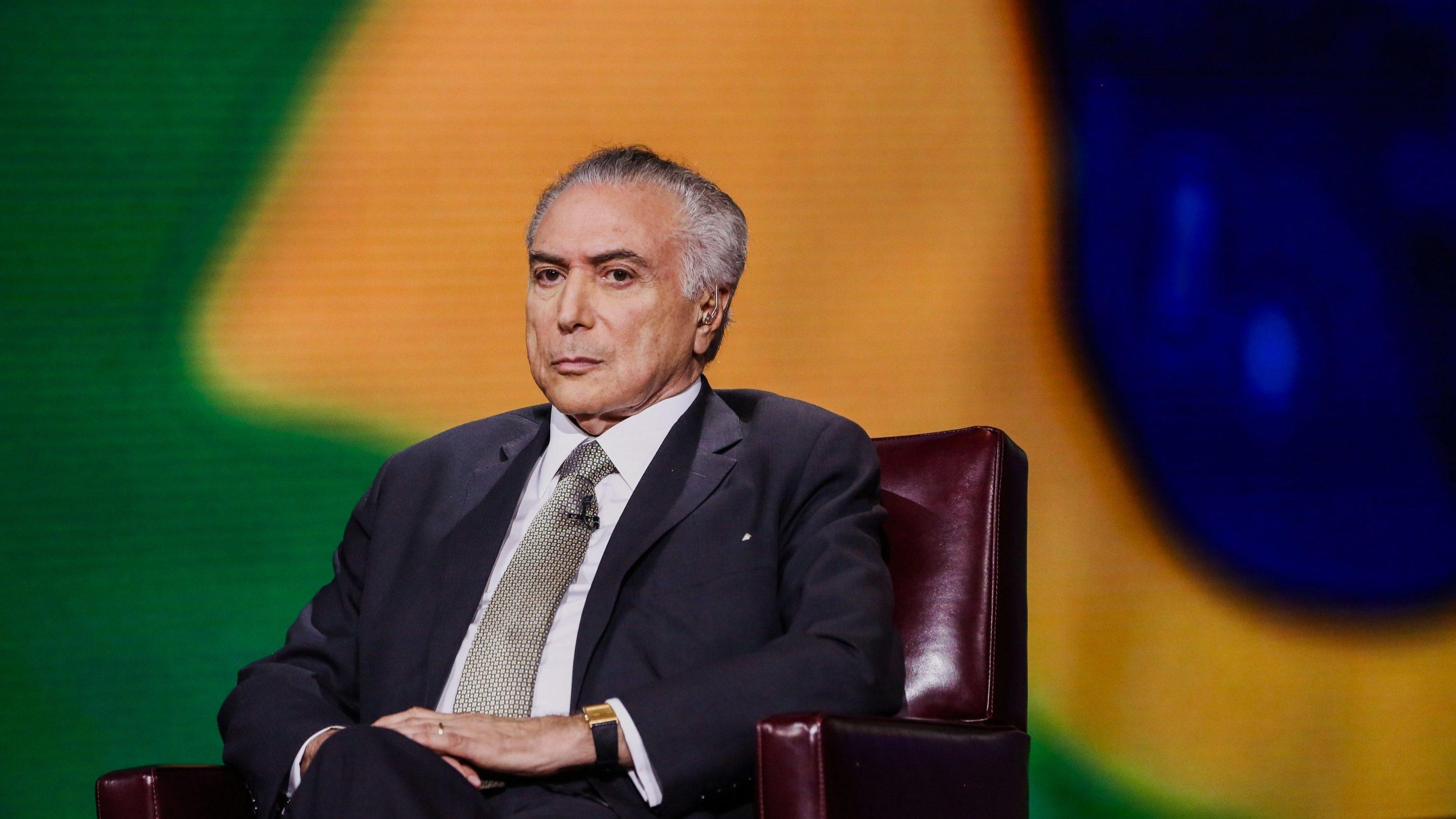 Michel Temer confunde Paraguai com Portugal