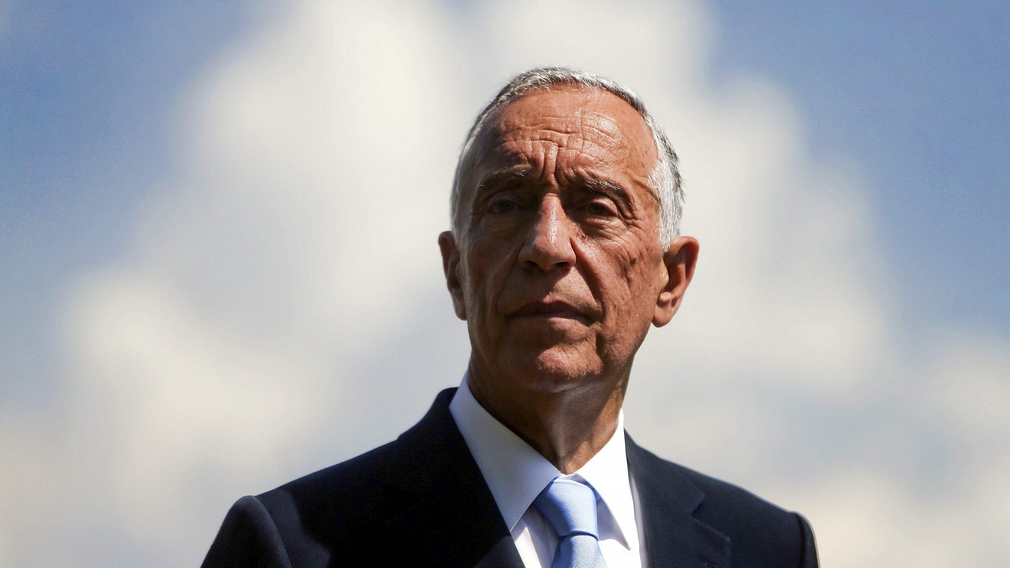 Marcelo Rebelo de Sousa garante não ter sido informado do encobrimento de Tancos