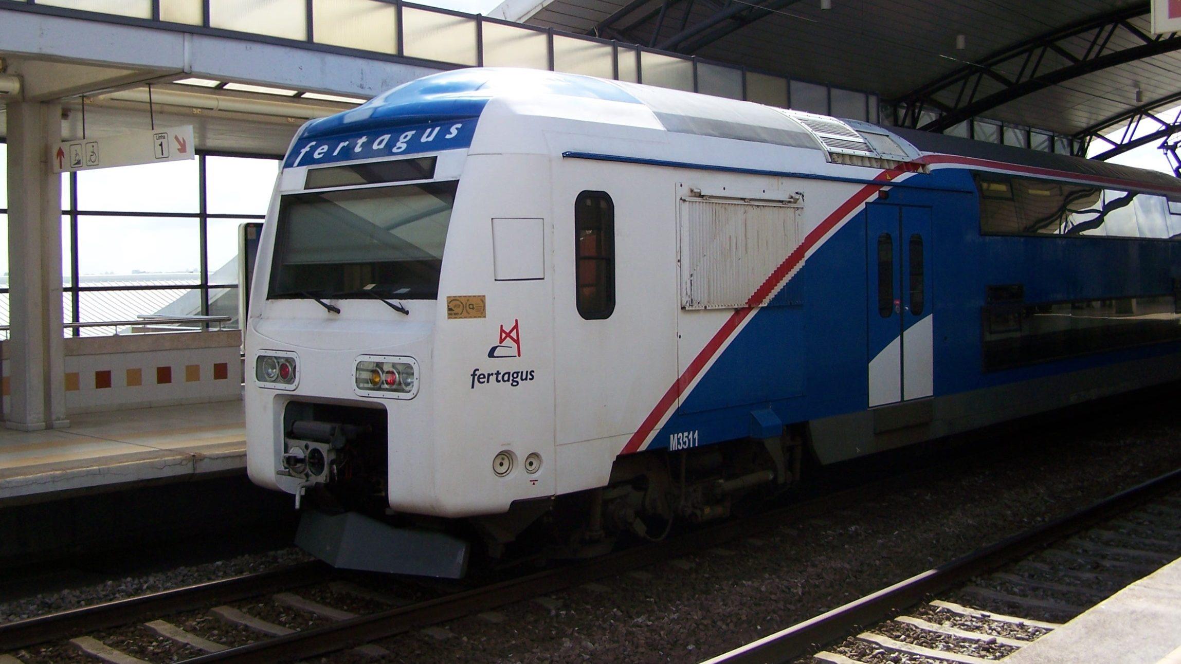 Governo prolonga concessão da Fertagus. Fica com o comboio na 25 de Abril por mais 4 anos e 9 meses