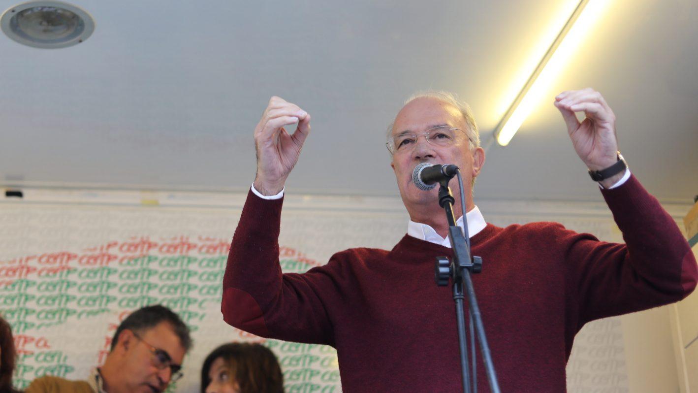 """Função Pública: Arménio Carlos diz que promessas do Governo """"continuam por cumprir"""""""