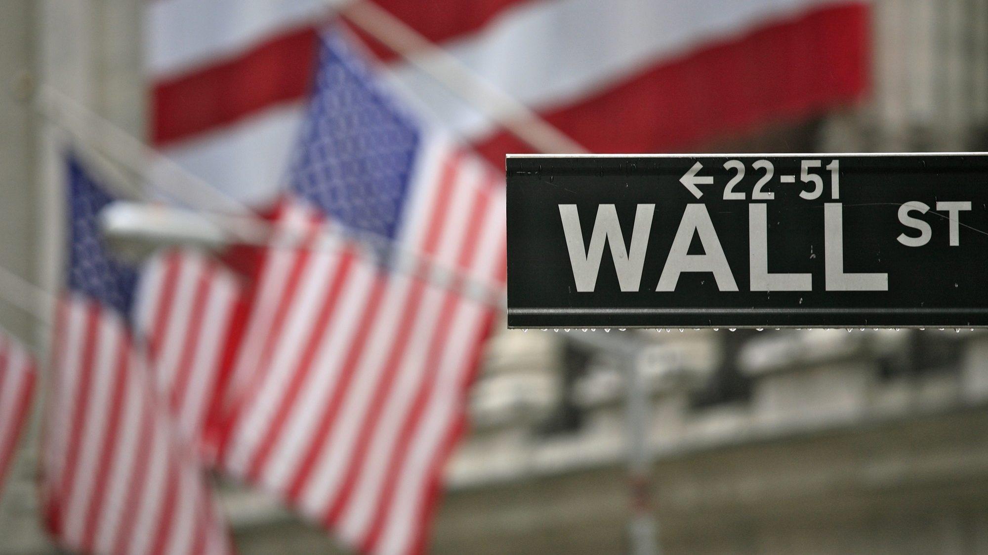 Wall Street no vermelho. Foi a pior semana desde 2016