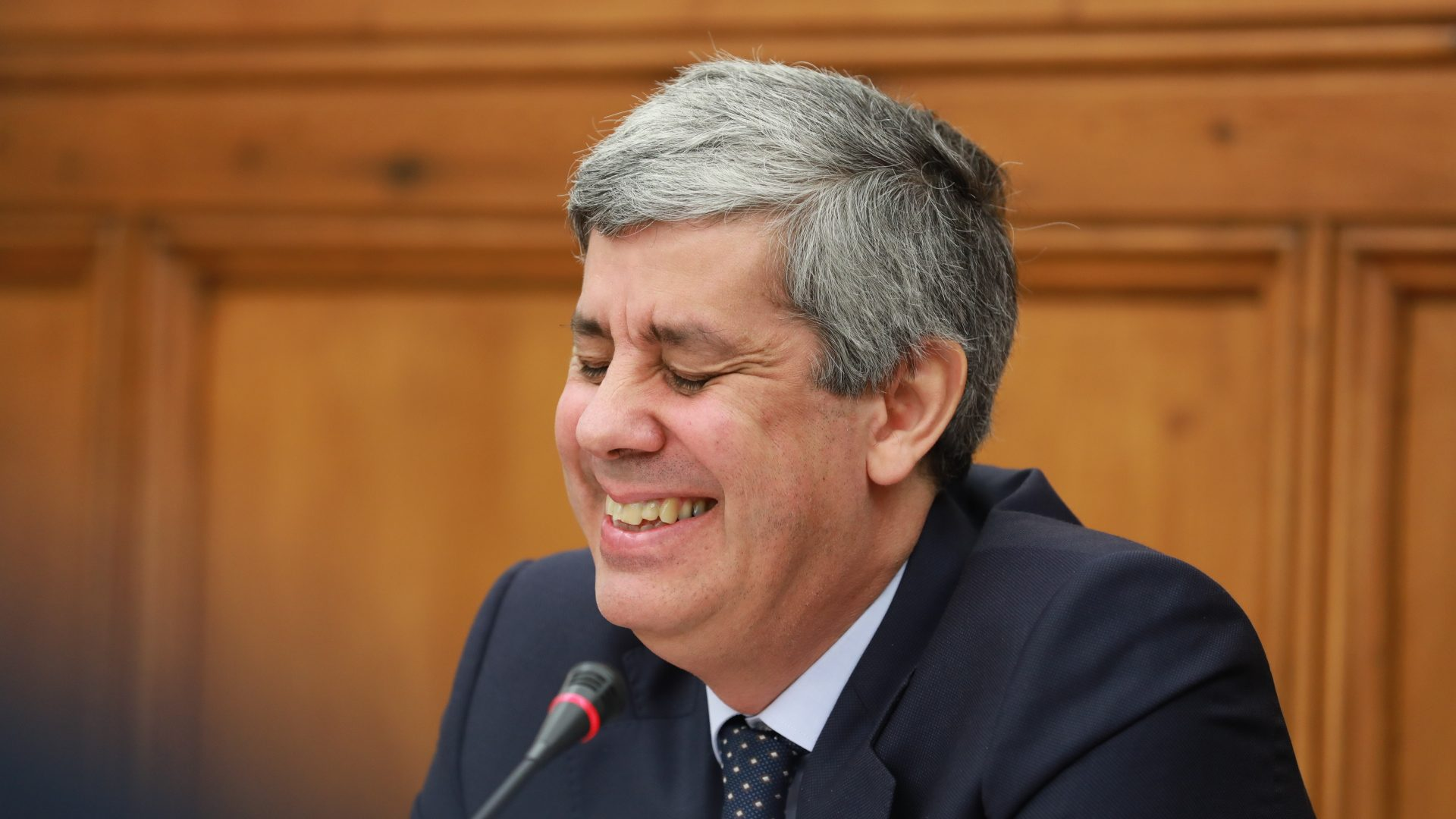 Centeno para presidente do… Conselho de Governadores do BEI