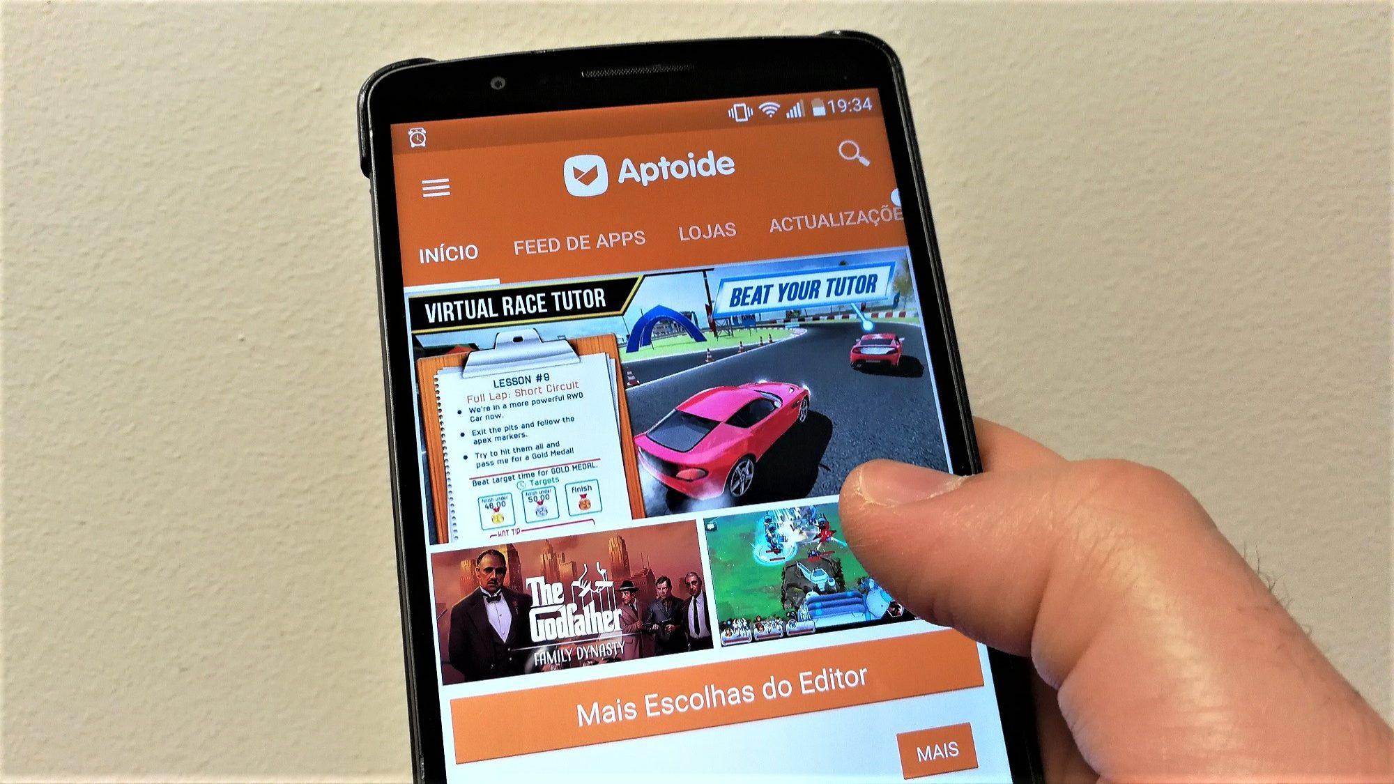 Portuguesa Aptoide ganha processo contra a gigante Google