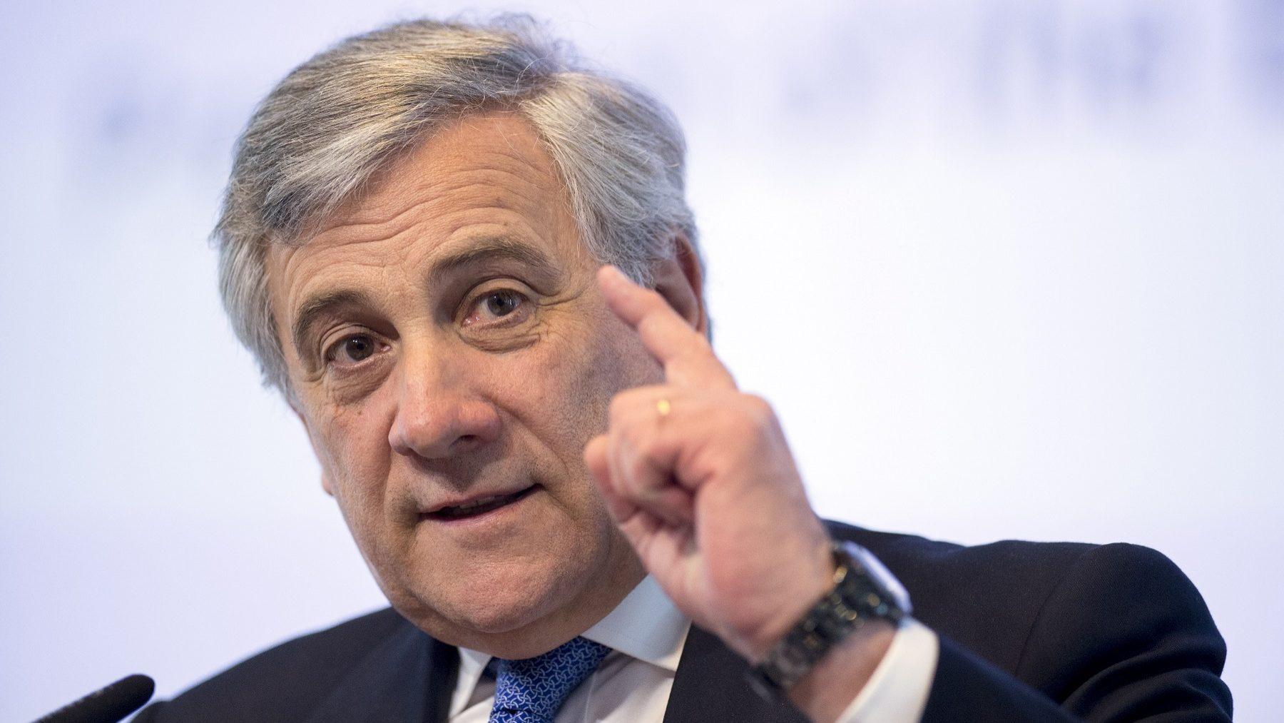 Tajani não encontrou novidades no discurso de May na cimeira dedicada ao Brexit