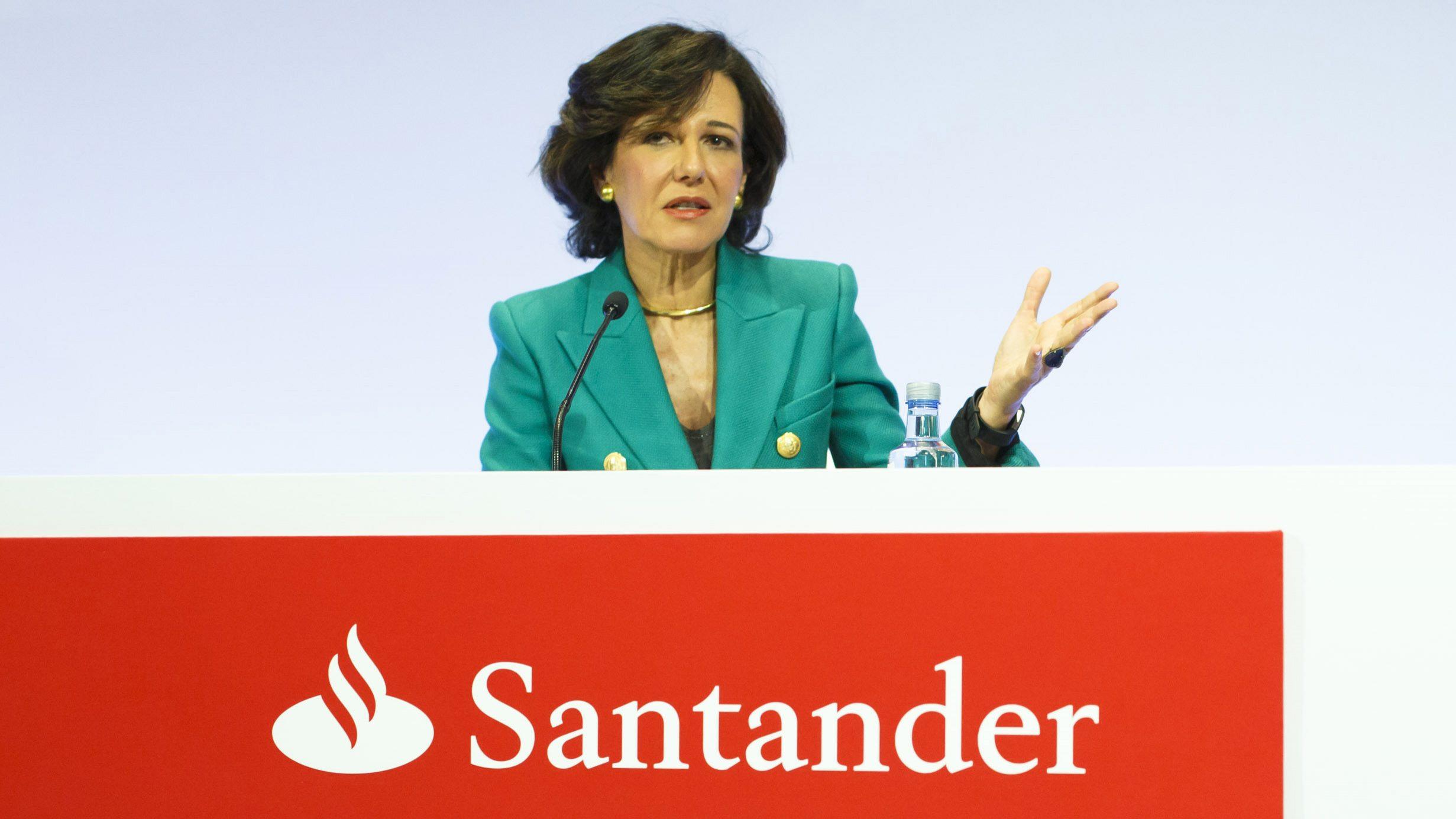 Espanha, Brasil e México puxam lucro do Santander para 2,05 mil milhões de euros