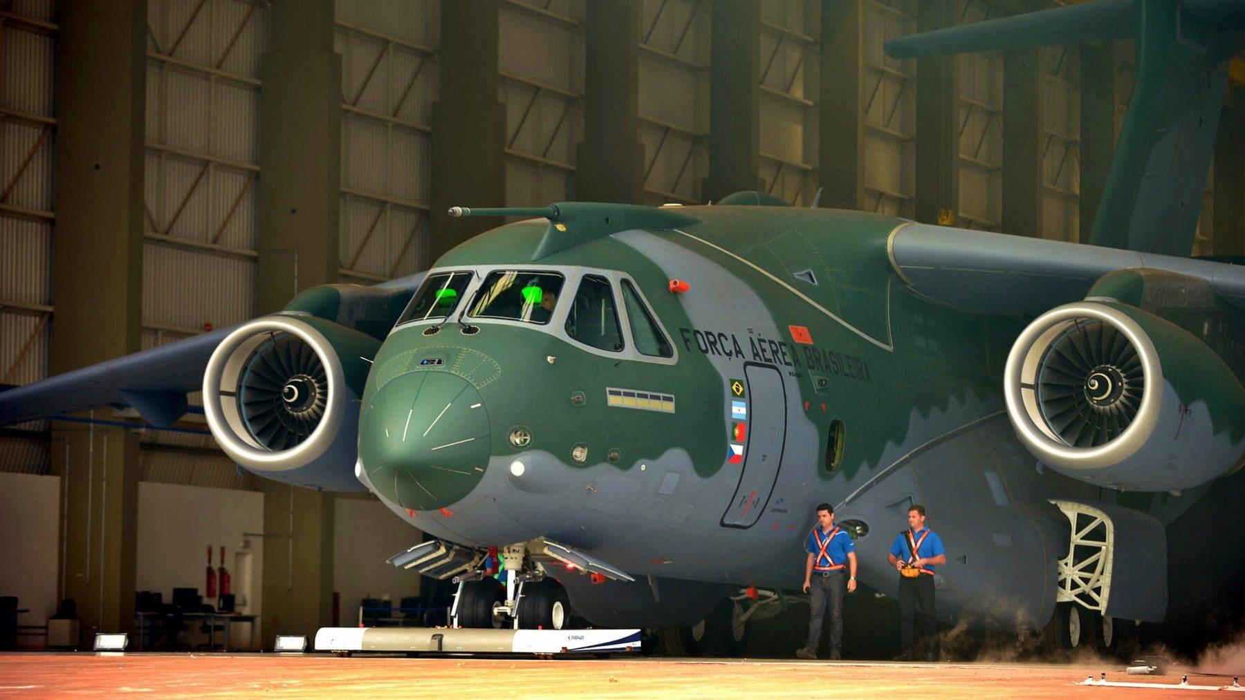 Tribunal de Contas dá luz verde para a compra dos aviões KC-390