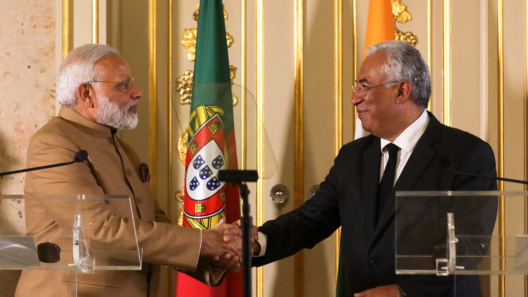 Índia e Portugal anunciam fundo de quatro milhões de euros para ciência e tecnologia