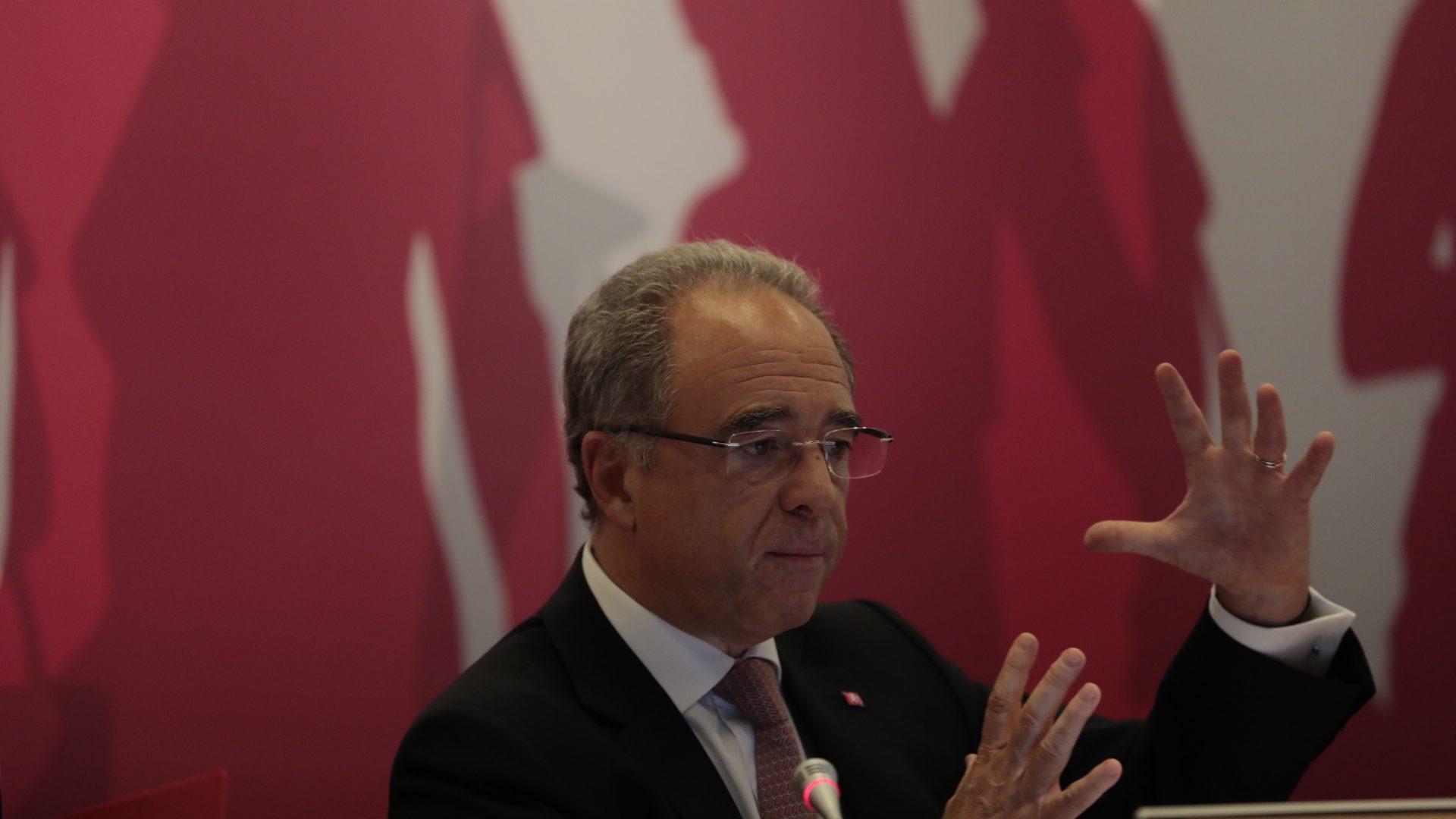 """Nuno Amado: """"Partidos deviam definir metas para redução da dívida"""""""