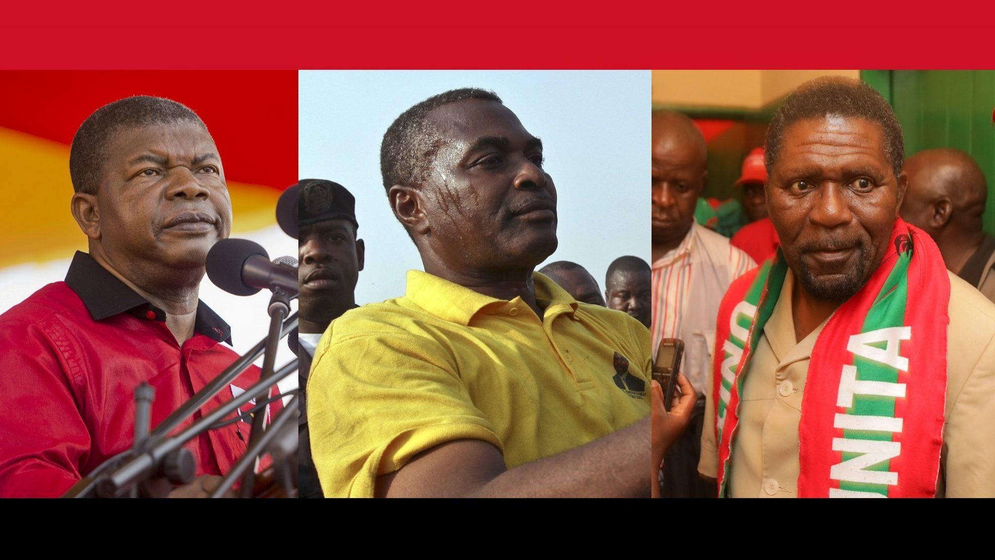 Angola: Quem está no boletim de voto e que economia querem?