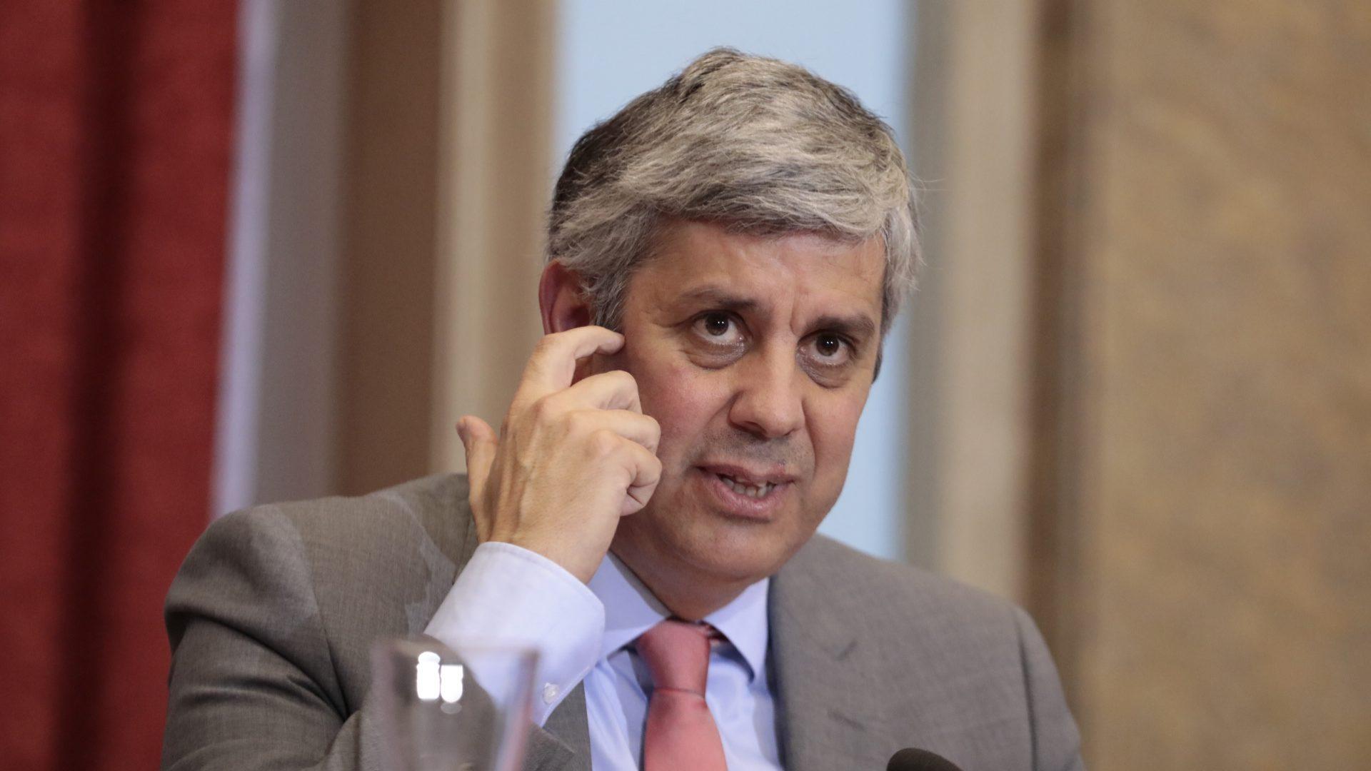 """Ministro das Finanças alemão: """"Presidência de Centeno produzirá efeitos positivos"""""""
