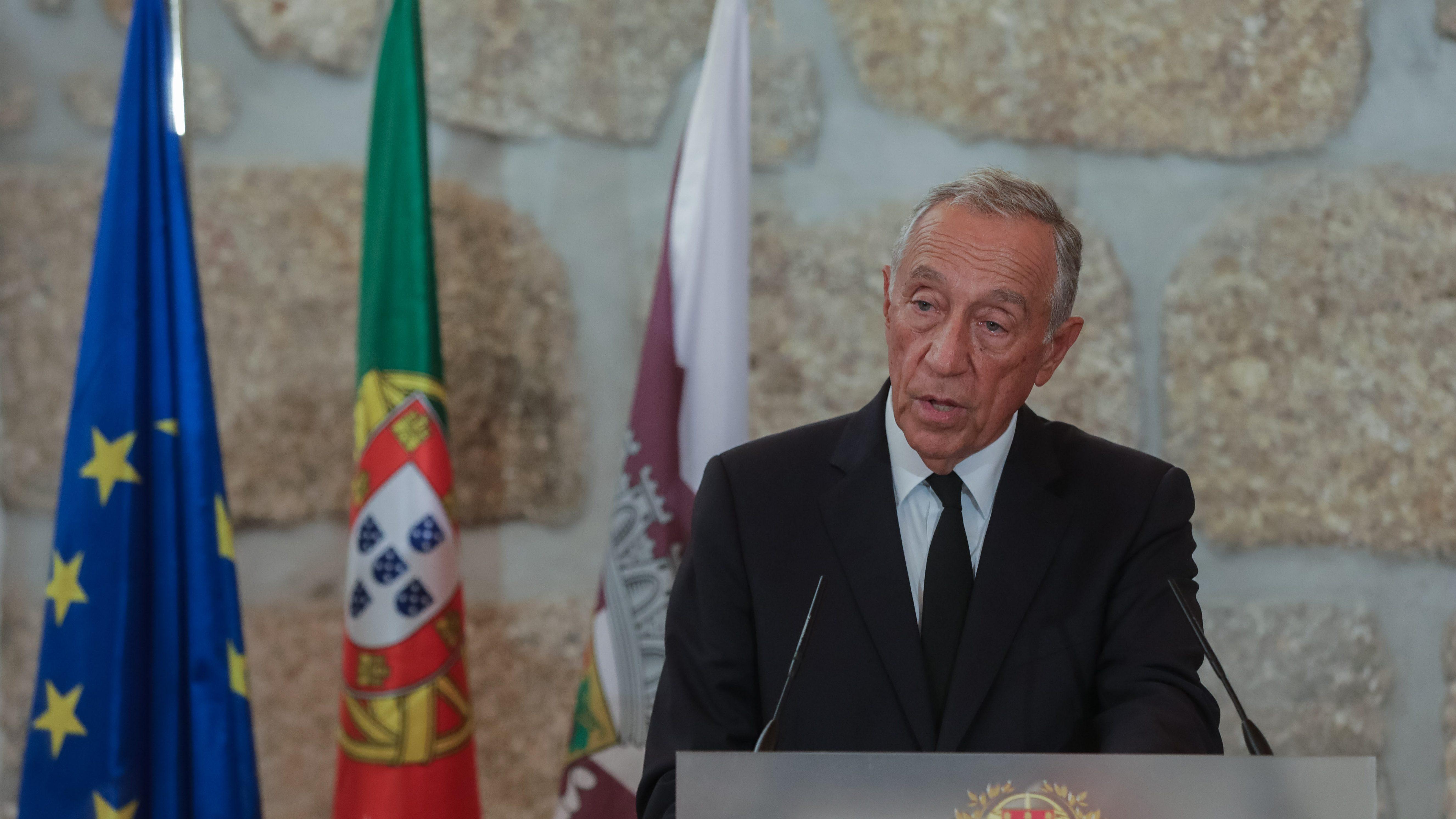 """Marcelo saúda """"forma rápida"""" como Governo """"tratou de tudo"""""""