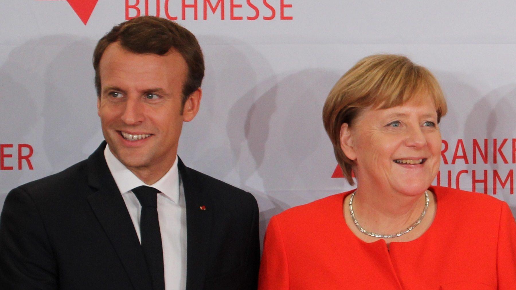 Merkel e Macron avançam com propostas comuns para a zona euro