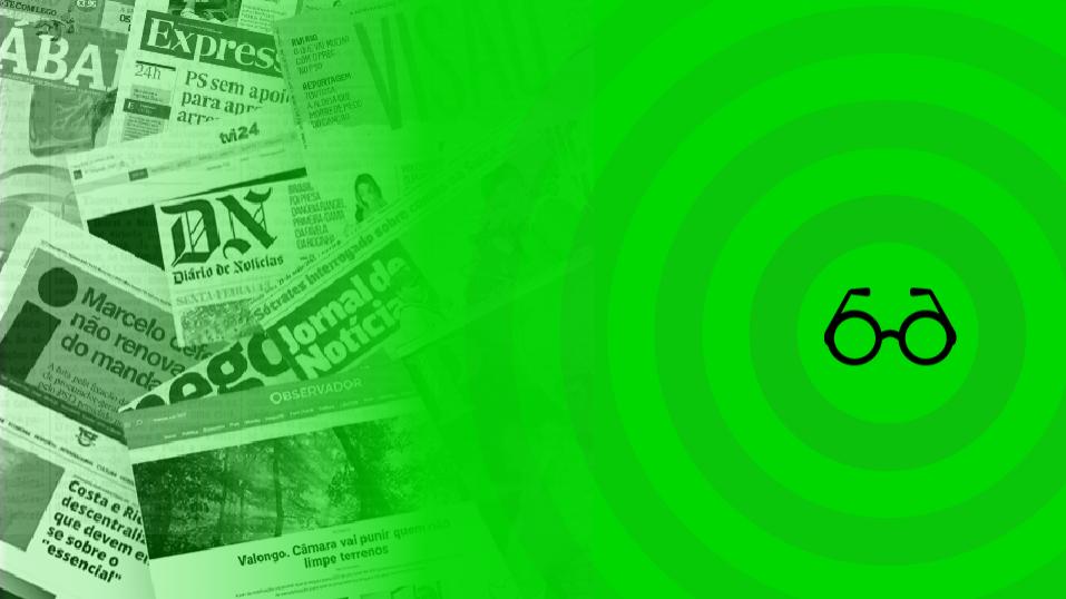 Hoje nas notícias: Pensões, subvenções e freguesias