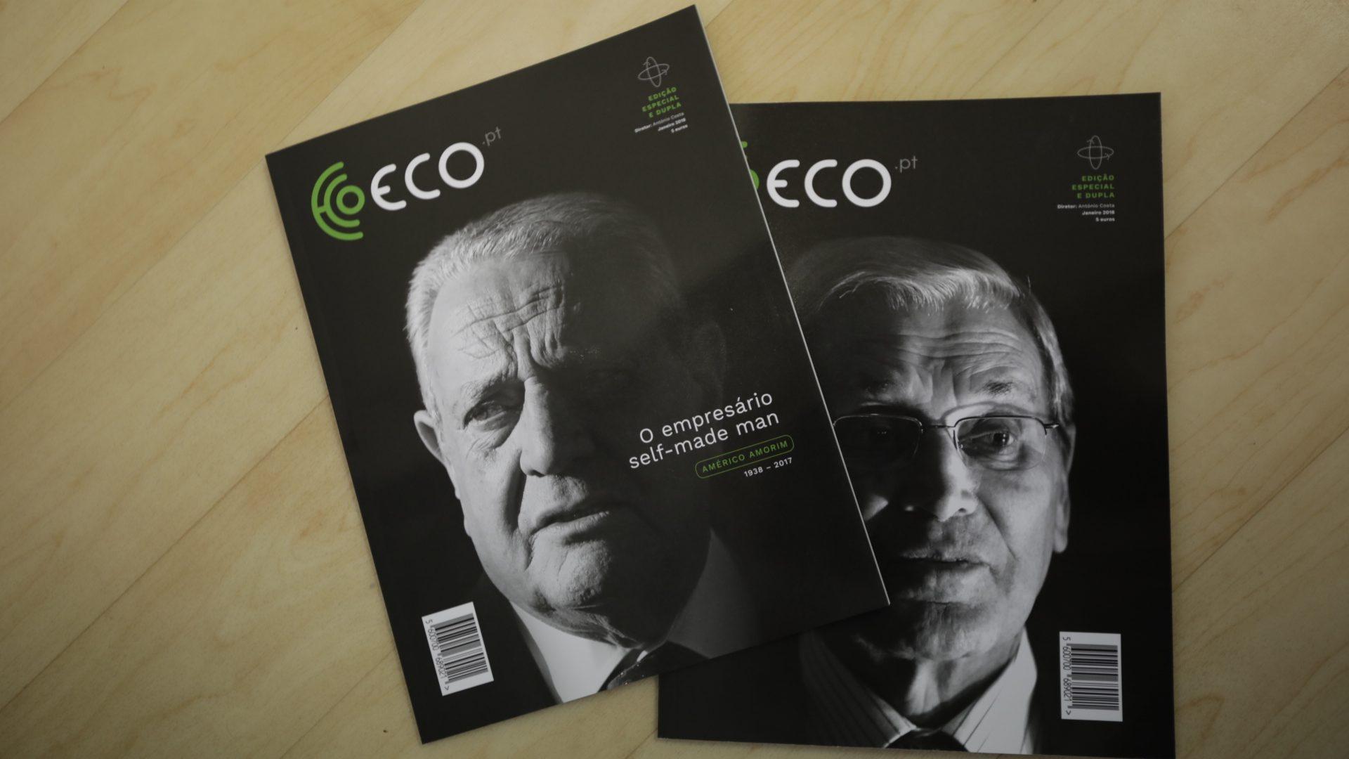 ECO passou as histórias de Belmiro e Amorim em Revista