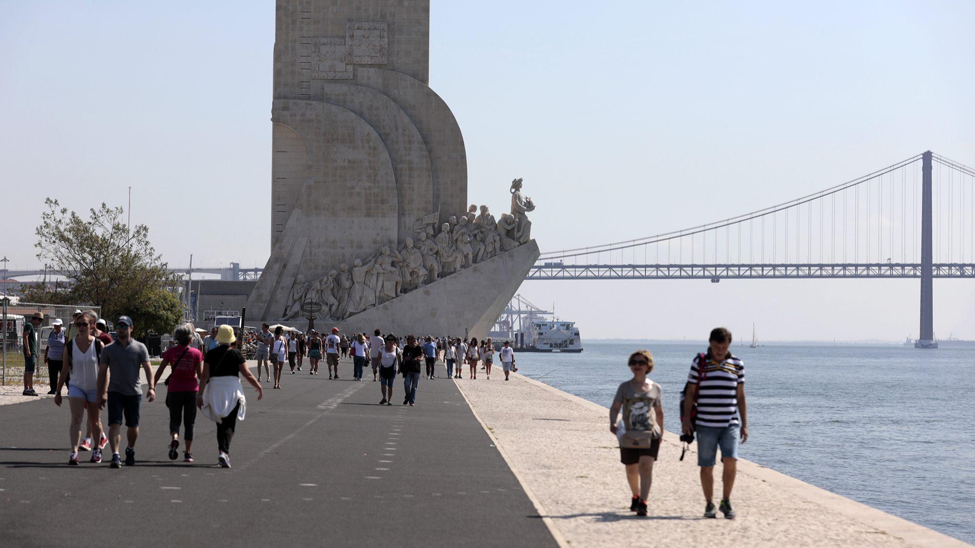 Turistas deixam quase 7 mil milhões em Portugal no primeiro semestre