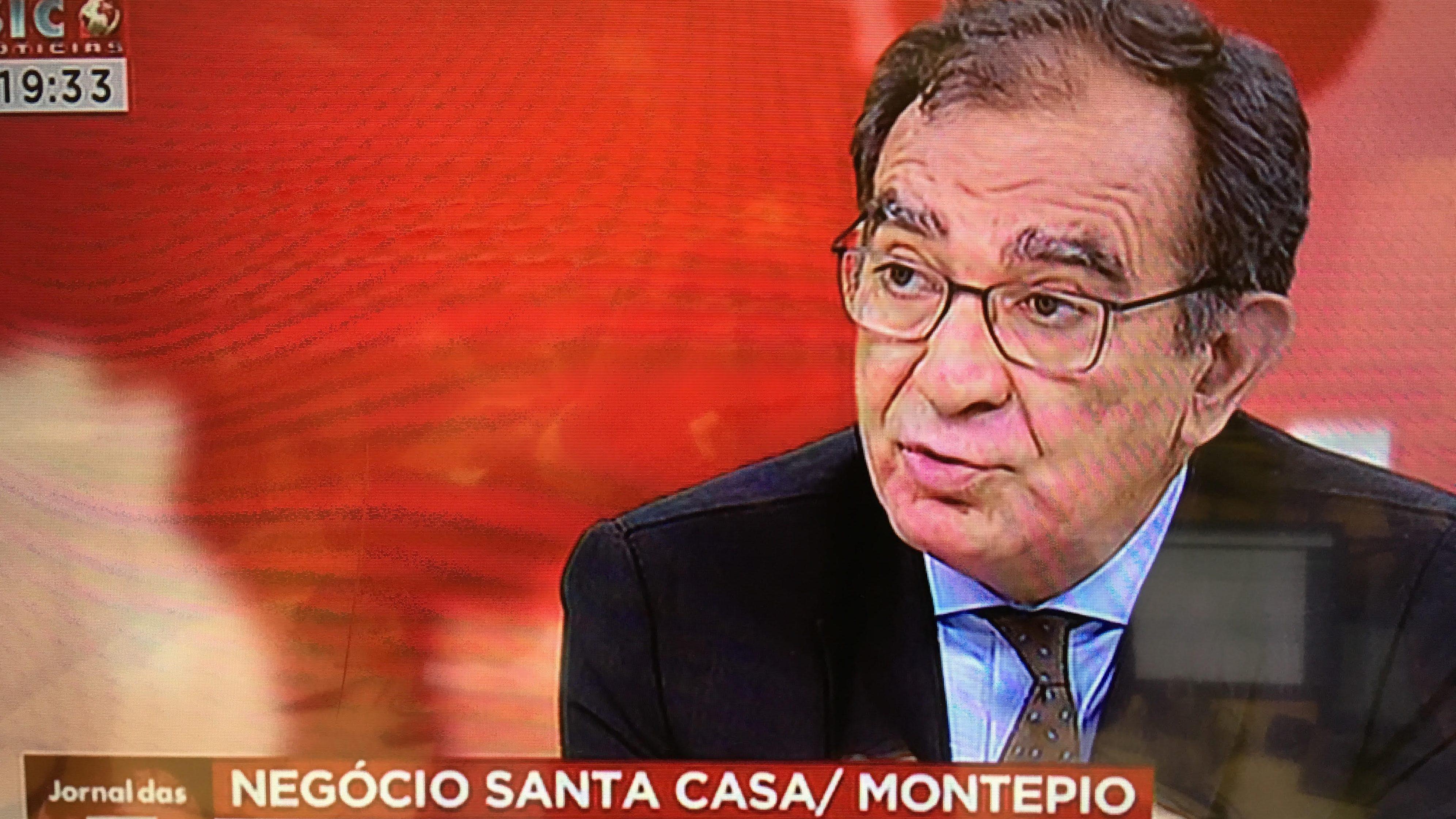 Montepio avaliado em 1.600 milhões de euros, diz estudo da Santa Casa