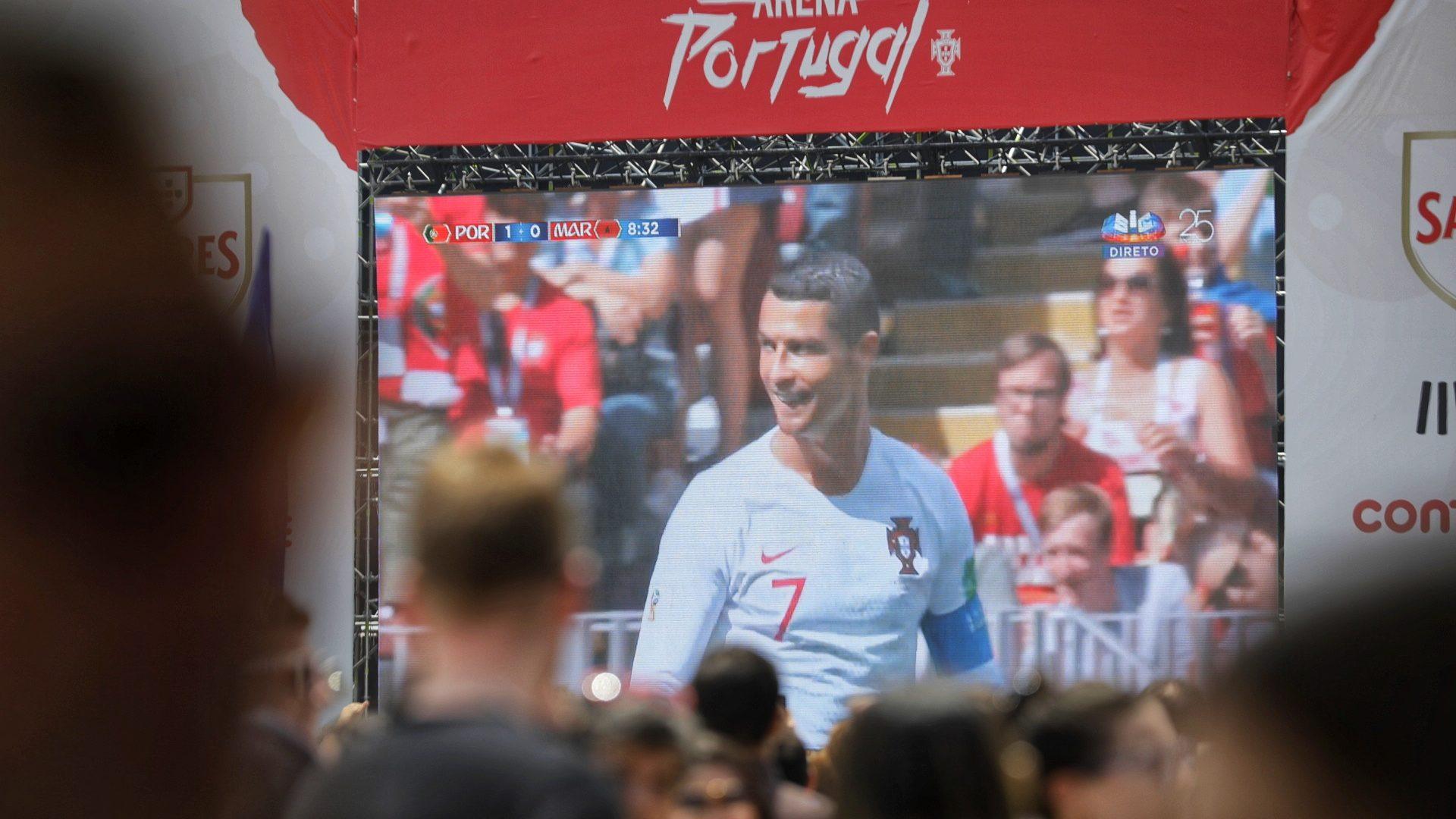 Portugal vence e elimina Marrocos, ficando assim mais próximo dos oitavos de final