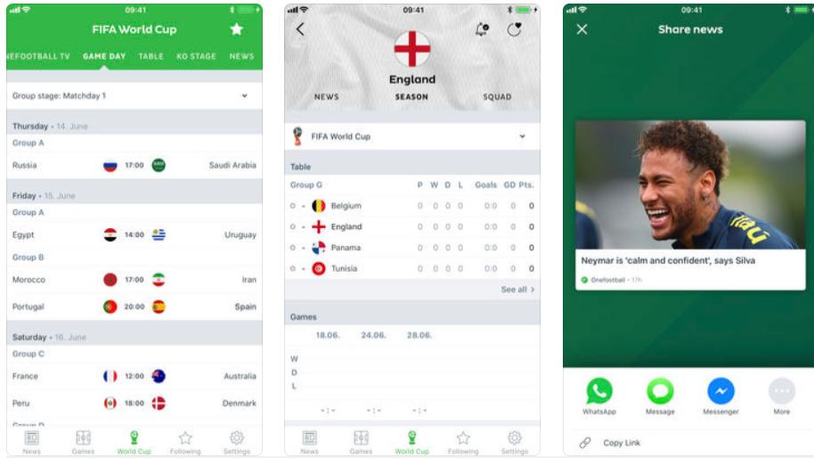 Longe do sofá? 5 apps para não perder nem um minuto deste Mundial