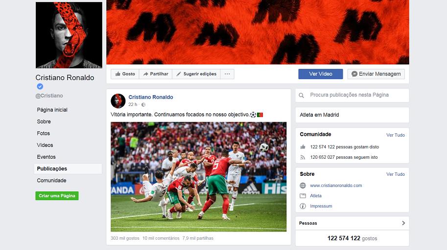 Seleção nacional agita redes sociais durante o Mundial de 2018