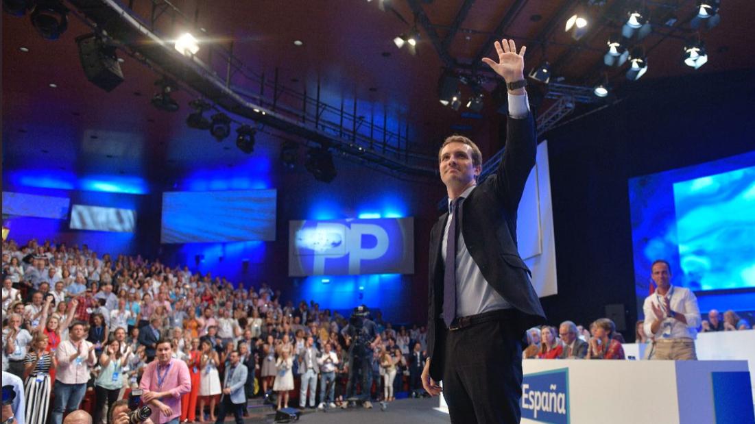 Pablo Casado é o novo líder do PP espanhol