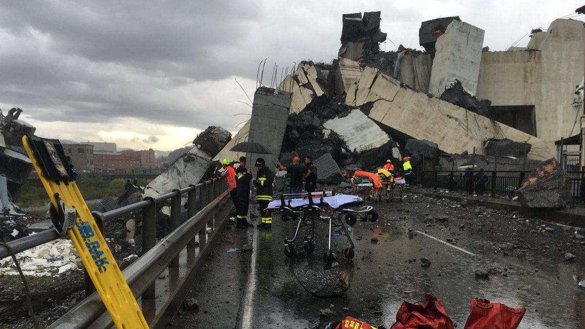 Atlantia já perde quase 30% desde a queda de ponte em Génova