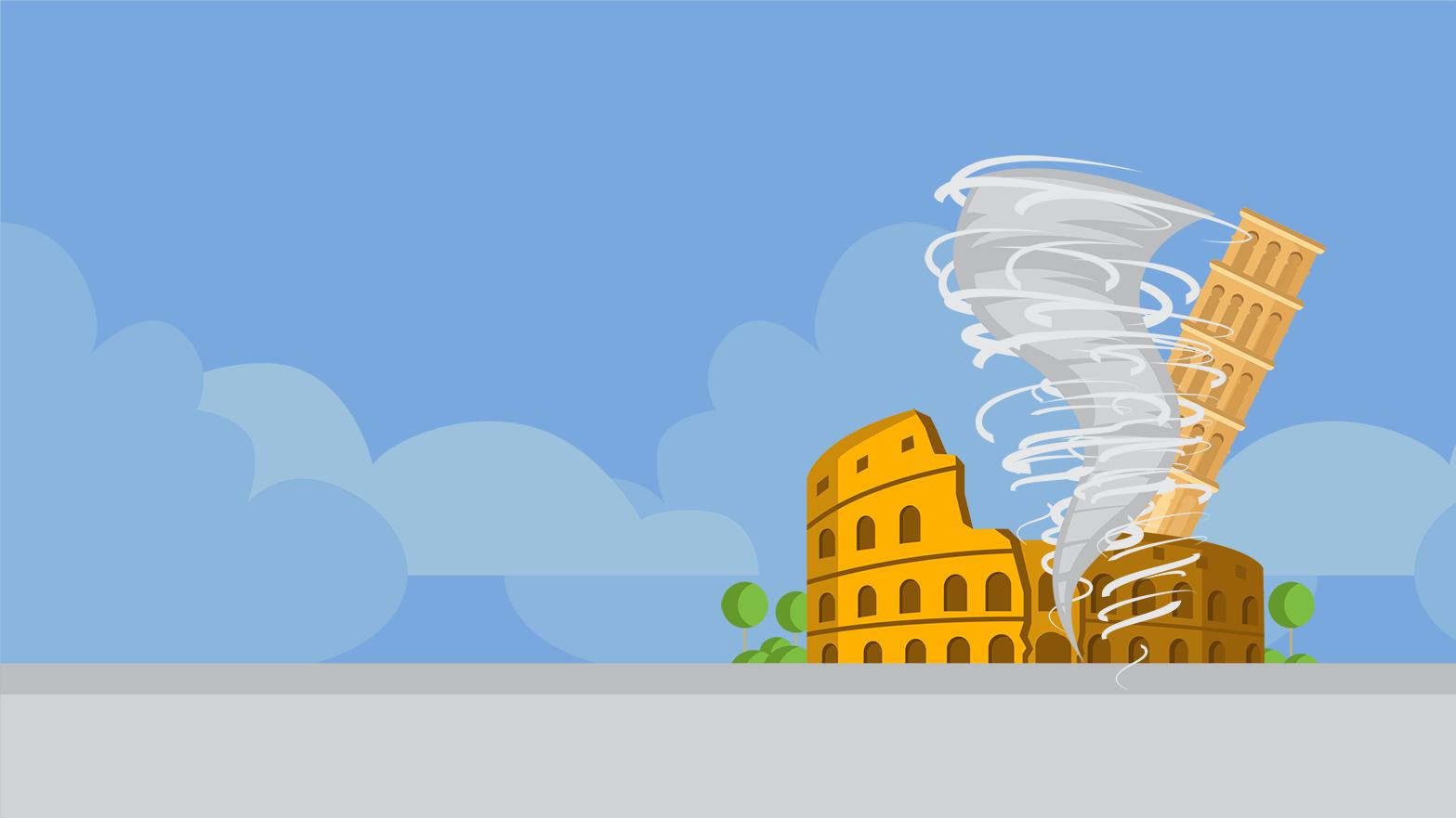 Moody's corta rating de Itália para um nível acima de 'lixo'