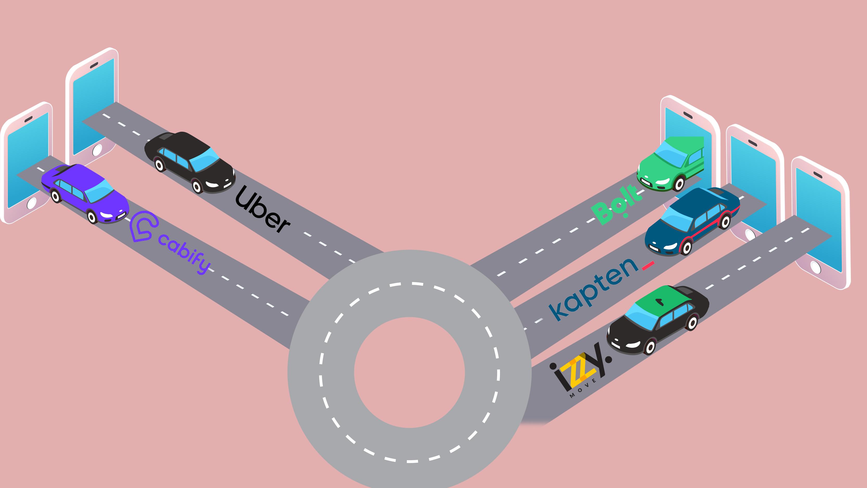 Uber, Bolt, Kapten, Cabify ou Izzy Move. Qual é a opção mais barata para se deslocar em Lisboa?