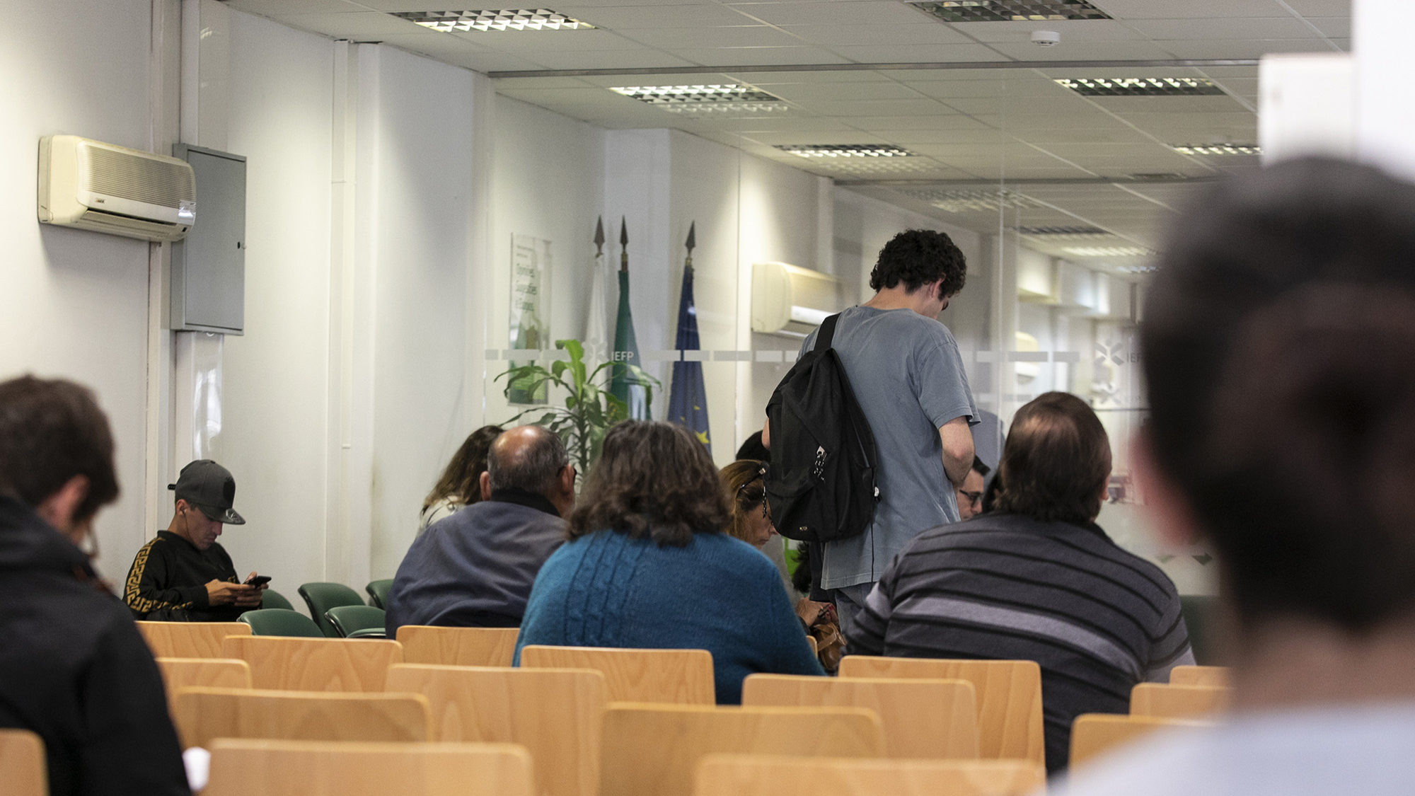 Portugal com 3.ª menor taxa de vagas de emprego no 1.º trimestre