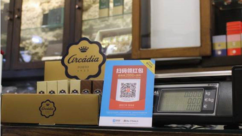 Lojas da Arcádia recebem pagamentos digitais por via da plataforma chinesa Alipay