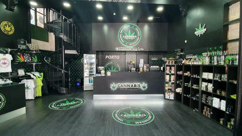 Cannabis Store Amesterdam chegou ao Porto. Guimarães é o próximo destino