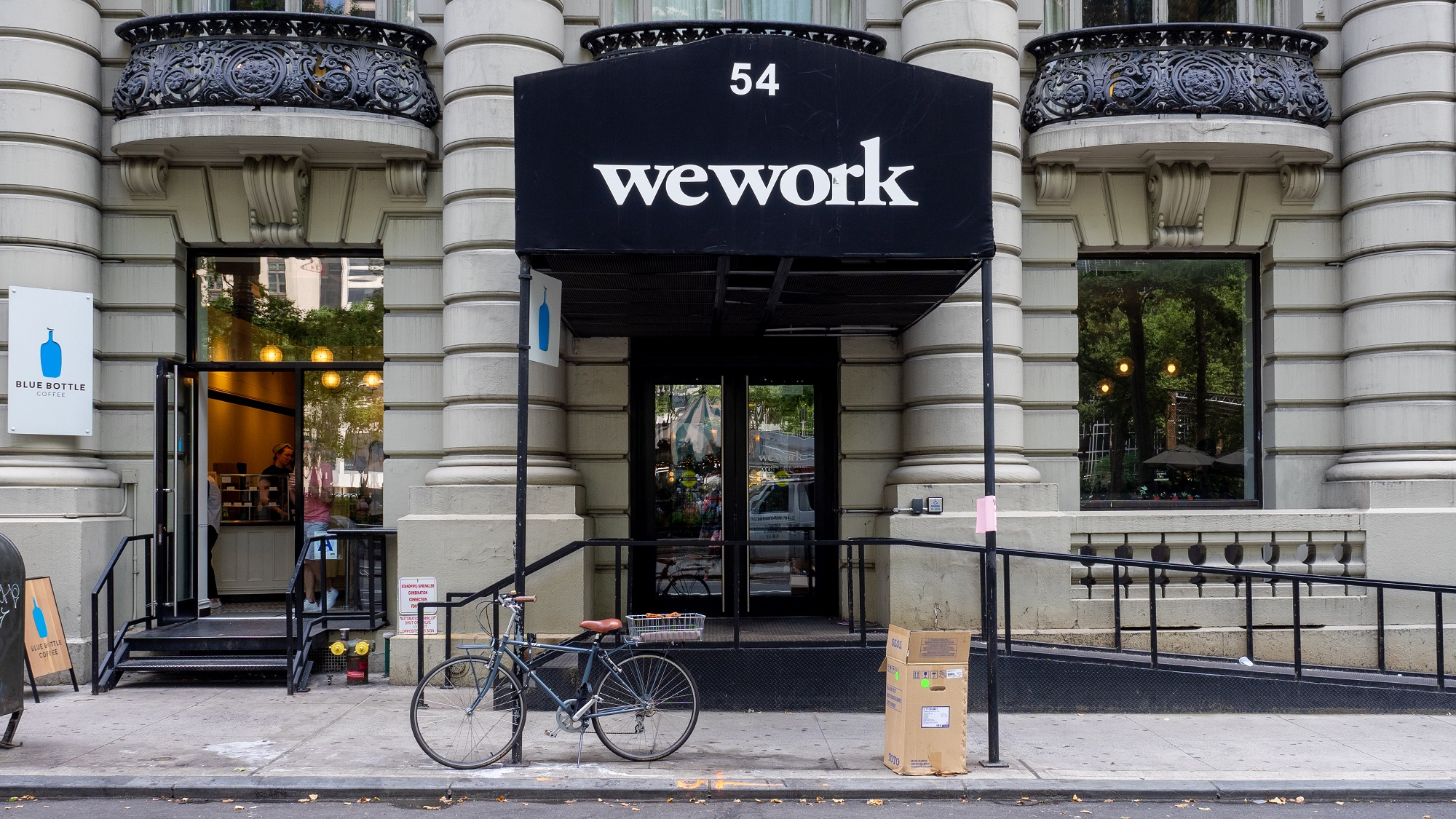 Risco de falência na WeWork. SoftBank prepara resgate