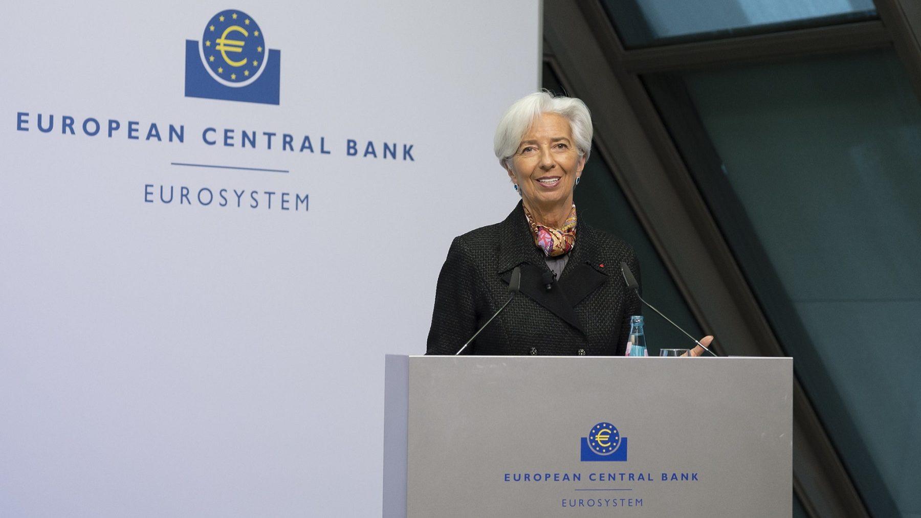 BCE estuda benefícios e riscos de criação de uma criptomoeda em euros