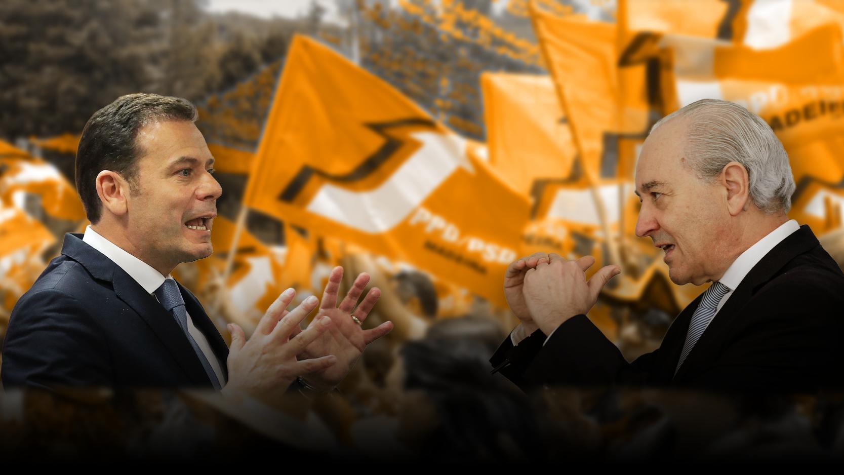 3.030. Estes são os votos que Rio e Montenegro disputam hoje para liderar o PSD