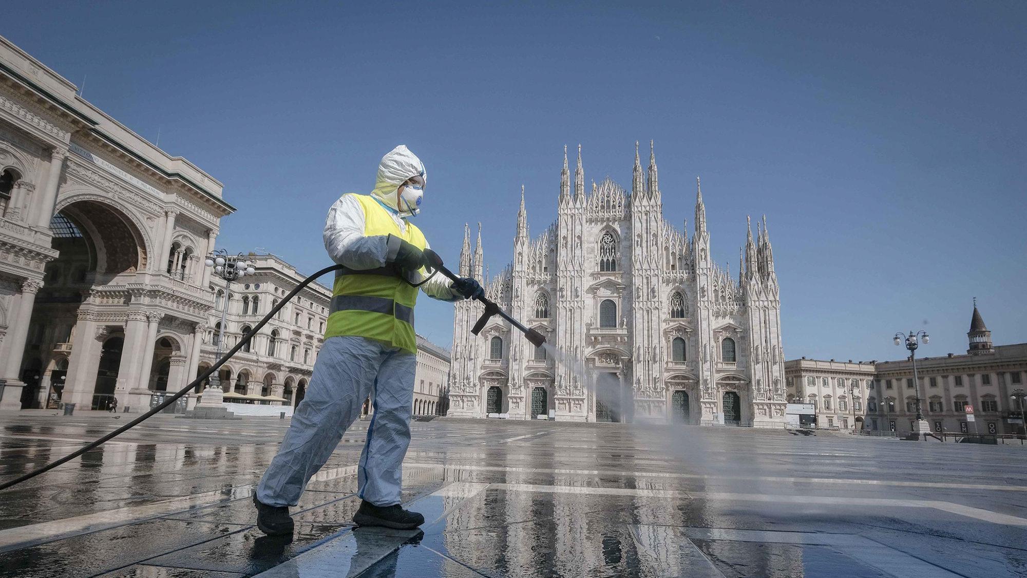 Mais 766 mortes em Itália por causa do Covid-19. Total é agora de 14.681