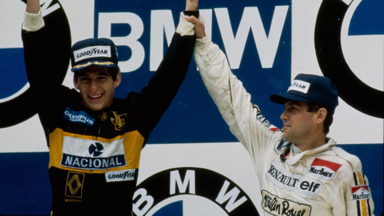 Sabia que a primeira vitória de Ayrton Senna teve potência Renault?